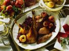 Gänsebraten mit Apfelblaukraut Rezept