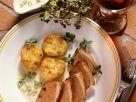 Gänsebrust mit Kartoffelplätzchen Rezept