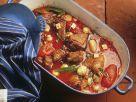Gänsefleisch mit Tomatensoße Rezept