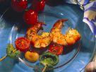 Garnelen-Gemüsespieße Rezept
