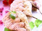 Gebackene Birnen mit Beerencreme Rezept