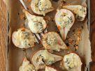 Gebackene Birnen mit Käse Rezept