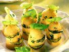 Gebackene Kartoffel-Zucchini-Spießchen Rezept