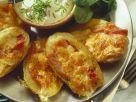 Gebackene Kartoffeln mit Speck und Käse Rezept