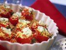 Gebackene Tomaten mit Nudel-Putenfüllung Rezept
