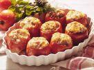 Gebackene Tomaten mit Weizenfüllung Rezept