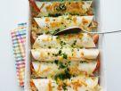 Gebackene Wraps mit Sauerkrautfüllung Rezept