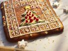 Gebackener Adventskalender aus Lebkuchen Rezept