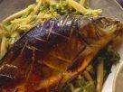 Gebackener Karpfen auf asiatische Art Rezept
