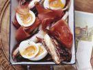 Gebackener Radicchio mit Ei und Speck Rezept