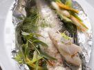 Gebackenes Bodenseefelchen mit Gemüsesalat Rezept