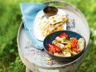 Gebackenes Gemüse mit Halloumi Rezept