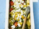Gebackenes Gemüse mit Schafskäse Rezept