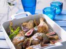 Gebackenes Hähnchen mit Portwein und Feigen Rezept