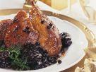 Gebratene Ente mit Pflaumen und Wacholderbeeren Rezept