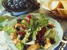 Gebratene Hähnchenbrust mit Weintraubensalat Rezept