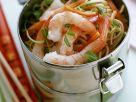 Gebratene Nudeln mit Shrimps Rezept