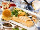 Gebratene Seezunge mit Käsesauce Rezept