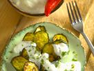 Gebratene Zucchini mit Joghurtdip Rezept