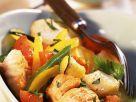 Gebratener Fisch mit Wok-Gemüse Rezept