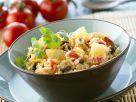 Gebratener Reis mit Ananas und Ei Rezept