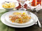 Gebratenes Lachsforellenfilet auf Riesling-Kraut Rezept