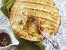 Gedeckter Apfelkuchen mit Thymian Rezept