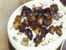 Geflügel mit Raita von der Aubergine Rezept