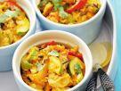 Geflügelcurry mit Paprika und Zucchini Rezept
