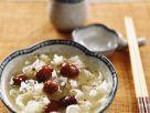 Geflügelsuppe mit Pilzen und Früchten Rezept