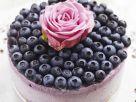 Gefrorener Cheesecake mit Blaubeeren Rezept