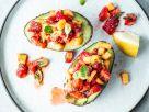 Gefüllte Avocado mit Erdbeer-Salsa Rezept