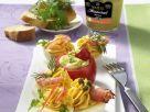 Gefüllte Dijon-Senfeier Rezept