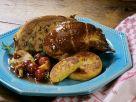Gefüllte Ente mit Pilzen Rezept