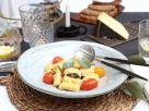 Gefüllte Gnocchi mit geschmelzten Tomaten in Salbeibutter Rezept