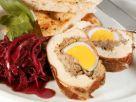 Gefüllte Hähnchenbrust mit Ei Rezept