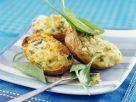 Gefüllte Kartoffel mit Mangold und Käse Rezept