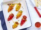 Gefüllte Mini-Paprikas mit Le Gruyère AOP Réserve Rezept