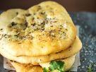 Gefüllte Naan-Brote Rezept