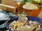 Gefüllte Nudeln mit Spinat und würzigem Käse Rezept