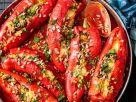 Gefüllte Paprika mit Linsen Rezept