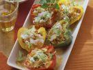 Gefüllte Paprika mit Sauerkraut, Rosinen und Pinienkernen Rezept