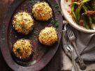 Gefüllte Pilze überbacken Rezept