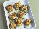 Gefüllte runde Zucchini Rezept