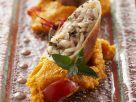 Gefüllte Tintenfische mit Tomatenpolenta Rezept