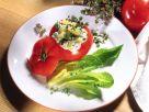 Gefüllte Tomaten mit Kartoffelsalat Rezept