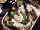 Gefüllte Zucchini in Zitronensauce Rezept