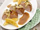 Gefülltes Schweinefilet à la Noord Hollander Rezept