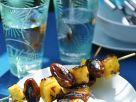 Gegrillte Frucht-Spieße Rezept