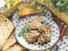 Gegrillte Schweinemedaillons im Speckmantel Rezept